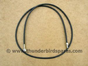 Speedo Cable, Triumph T120/T140 1966-78, BSA A65 1966 on, 60-7012, 19-9086